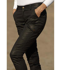 Martha Ridewear AGNES CHINOS WAXED, helskodd dam